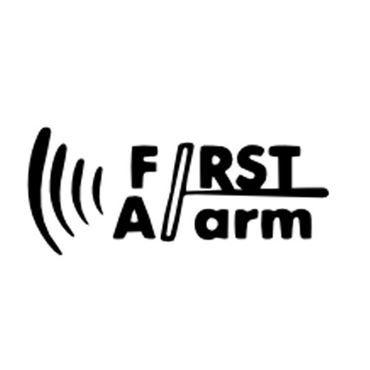 Logo de la marca First Alarm