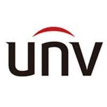 Logo de la marca UNV