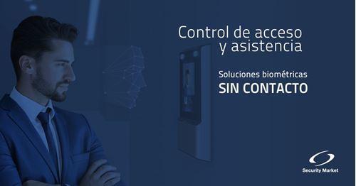 Control de acceso SIN CONTACTO - Soluciones para el retorno seguro