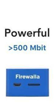 Imagen de FIREWALLA BLUE CORTAFUEGOS >500MB