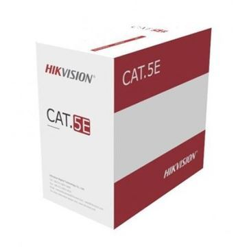 Imagen de HIK VISION CABLE UTP INTERIOR CAT 5E X 100 MTS
