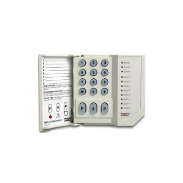 Imagen de DSC TECLADO LED 8 ZONAS PC1555RKZ