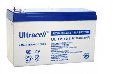 Imagen de ULTRACELL BATERIA UL12-12 12V 12AH