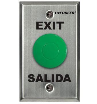 Imagen de ENFORCER PULSADOR SD-7201GCPE1Q EXIT/SALIDA