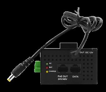Imagen de WITEK WI-PS302G-UPS SWITCH POE CON UPS 2P