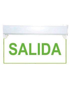 Imagen de CARTEL LUMINOSO SEÑALIZACION SALIDA C/BATERIA